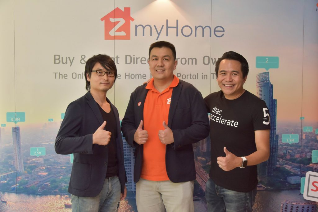 ZmyHome สตาร์ตอัพจาก dtac accelerate batch 3 ระดมเงินลงทุน 400,000 เหรียญ จากกองทุน KK Fund