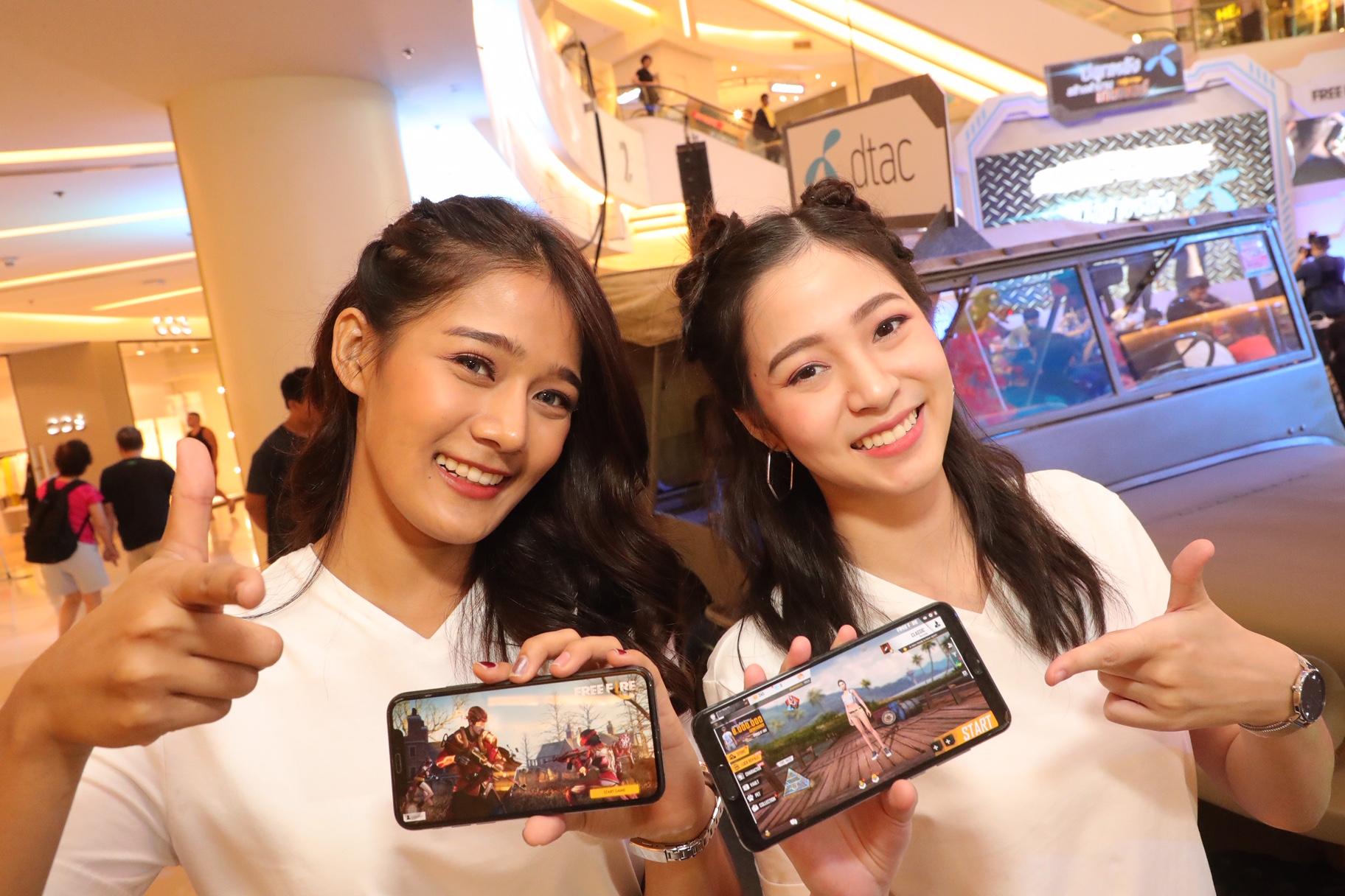 """ดีแทค-การีนา ตัดเชือกการแข่งขัน """"Free Fire Thailand Championship 2019 Presented by dtac"""" ปลุกพลังสร้างตำนานเกมเมอร์"""