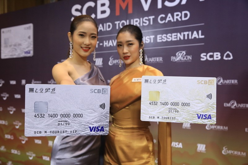 dtac joins hands with SCB, The Mall Group, and Visa to support booming tourism in digital cashless era