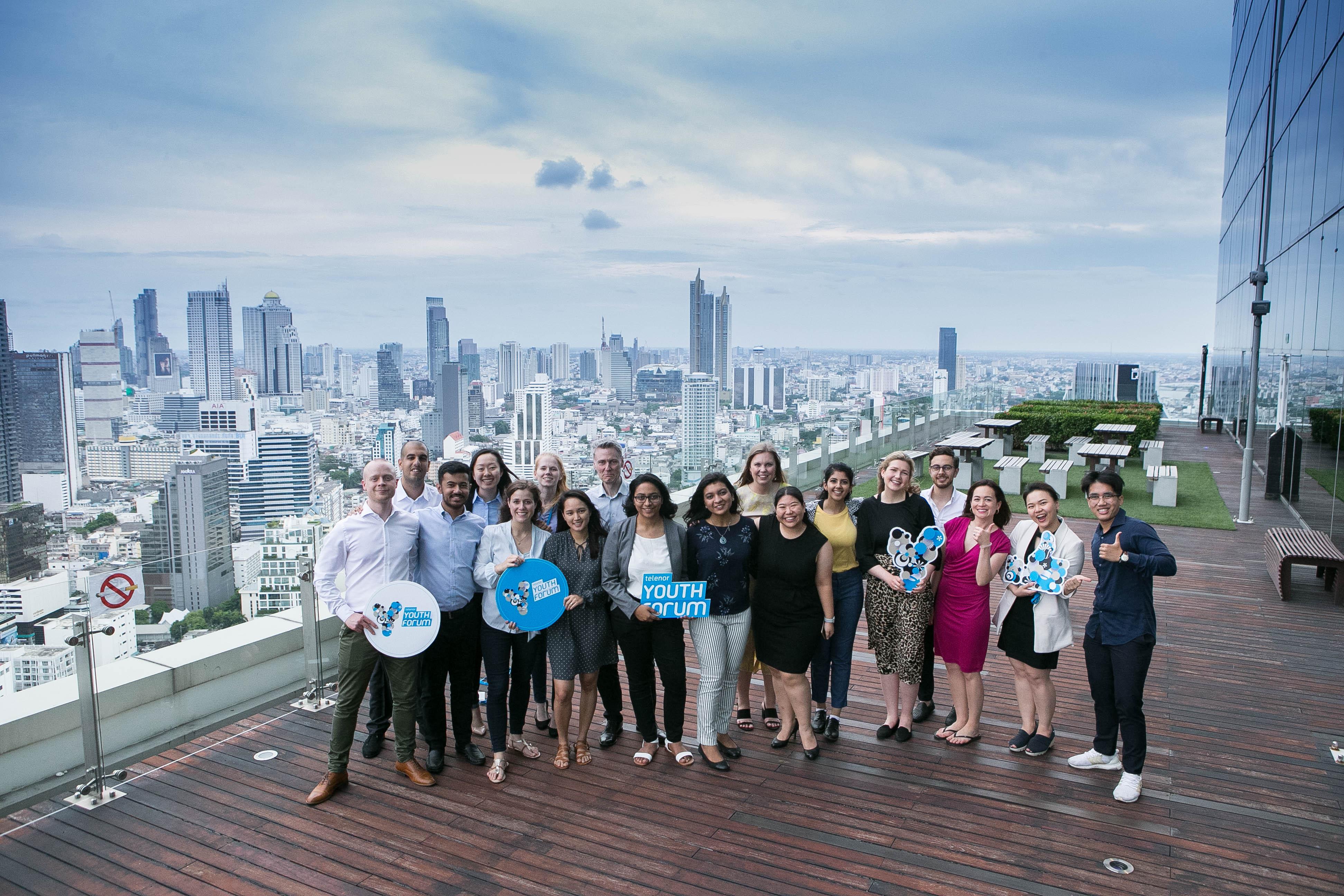 ดีแทคจัดงาน Telenor Youth Forum รอบไฟนอล เฟ้นหาสุดยอดโปรเจ็คจากตัวแทนประเทศไทย เอเชีย และยุโรป