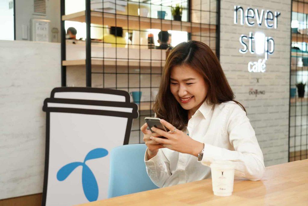 dtac begins 5G trial on 28 GHz spectrum at its Never Stop Cafe