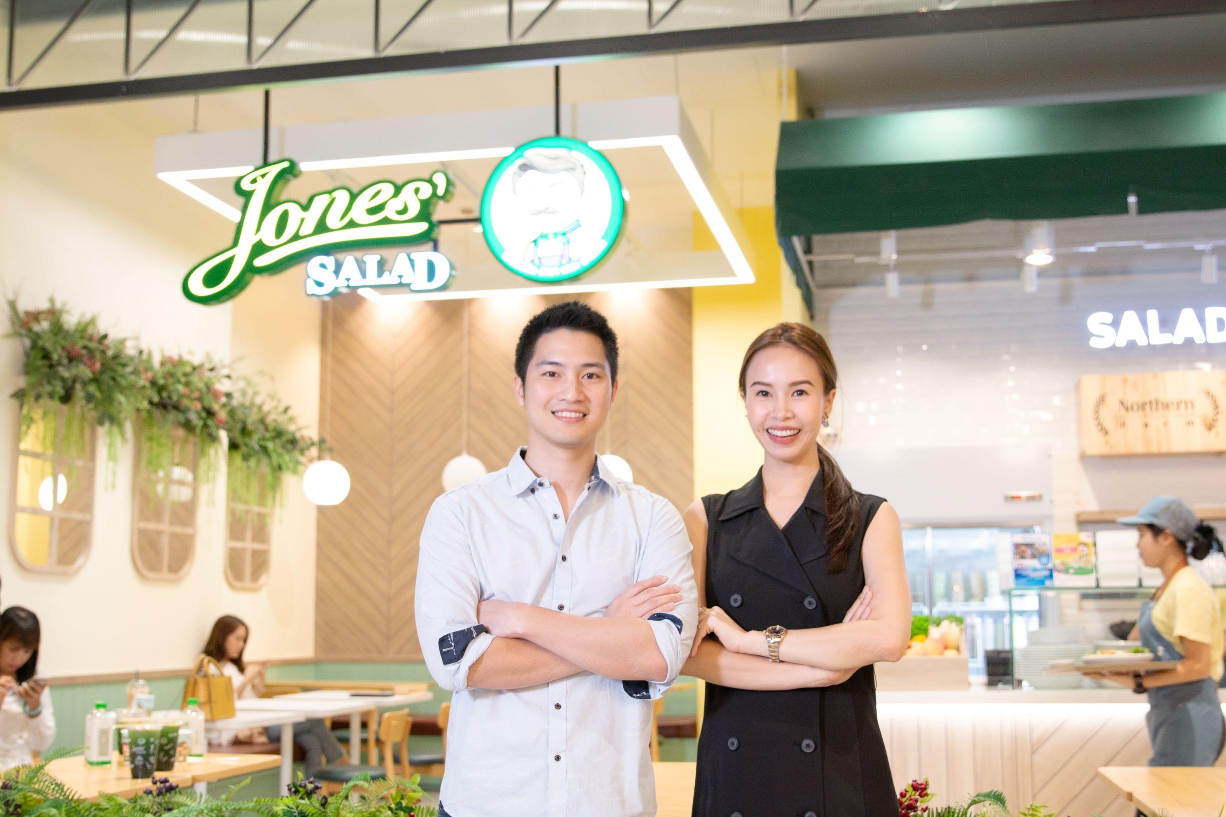 โจนส์สลัด ร้านสลัดสุขภาพที่กำลังมาแรงของคนเมือง โตไวไม่หยุด เลือกพันธมิตร dtac SME ช่วยวางแผนการสื่อสารตั้งเป้าขยายสาขาถึง 20 แห่งในปีหน้า