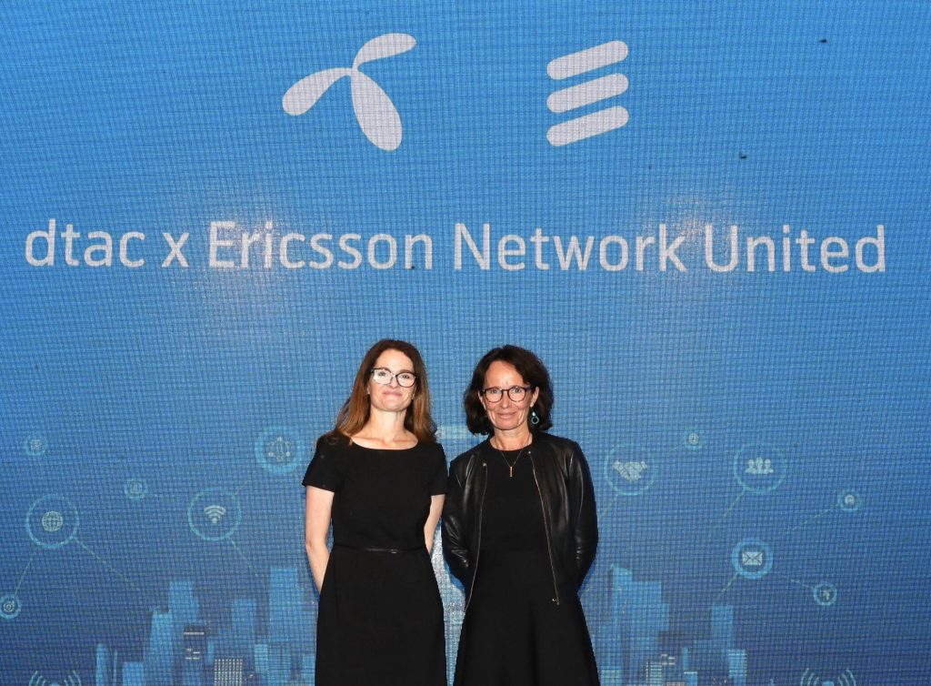 dtac and Ericsson sign partnership for advanced network operations