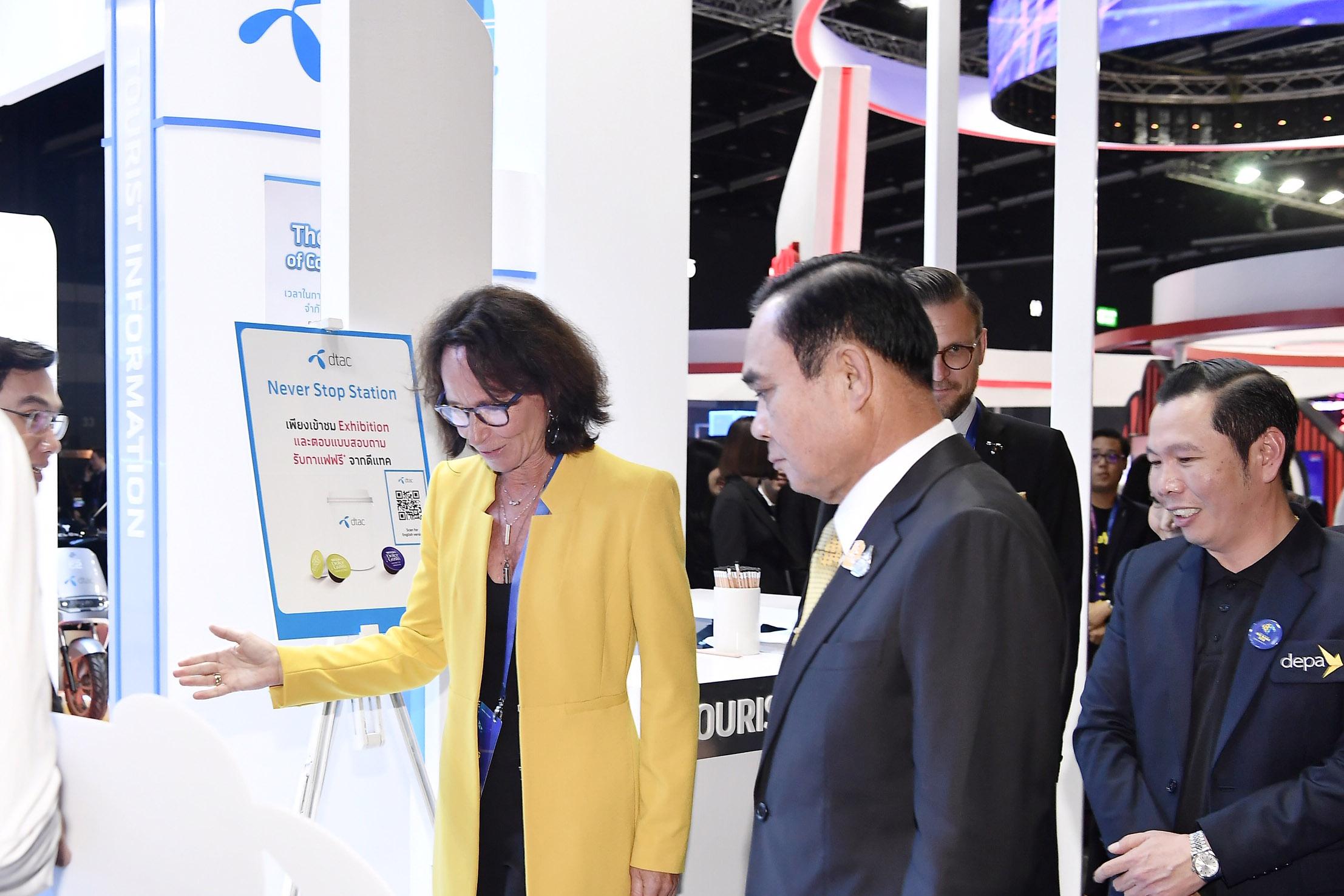 """ดีแทคชู """"การเชื่อมต่อสู่อนาคต"""" ในงาน """"ดิจิทัล ไทยแลนด์ บิ๊กแบง 2019"""" ไม่หยุดพัฒนาร่วมภาครัฐผลักดันประเทศไทยสู่ดิจิทัล"""