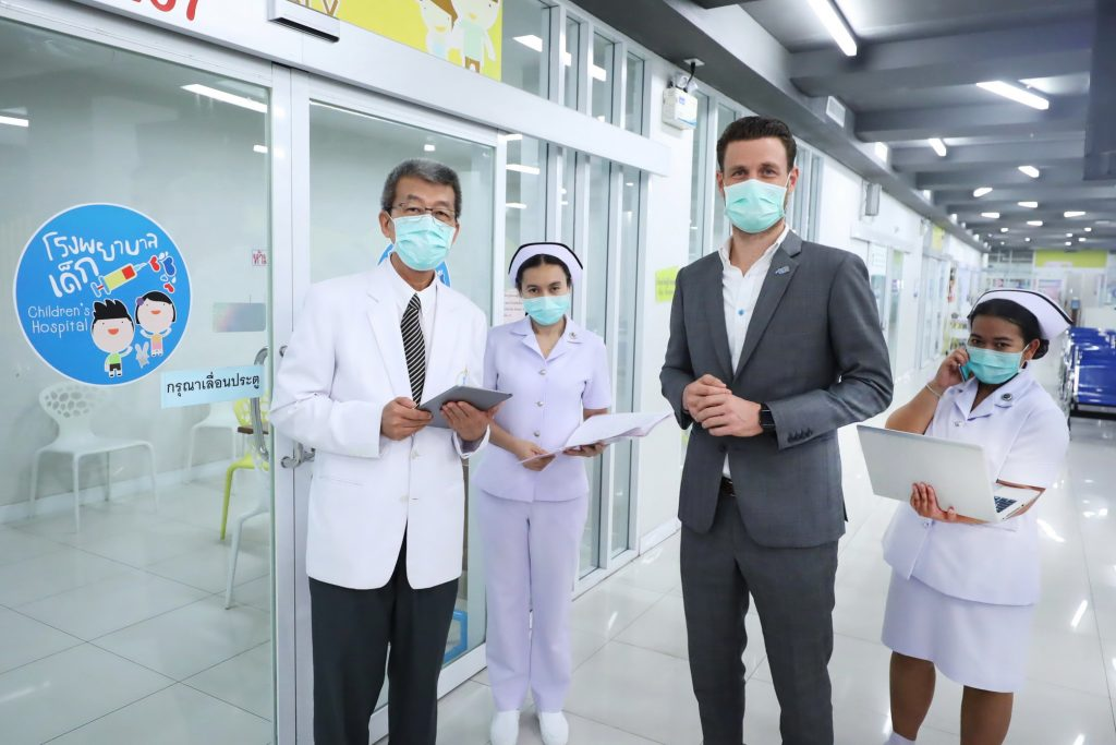 dtac offers unlimited, full-speed internet and IoT solutions for health industry