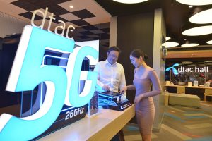dtac customers can now test a mmWave 5G smartphone for the first time in Thailand