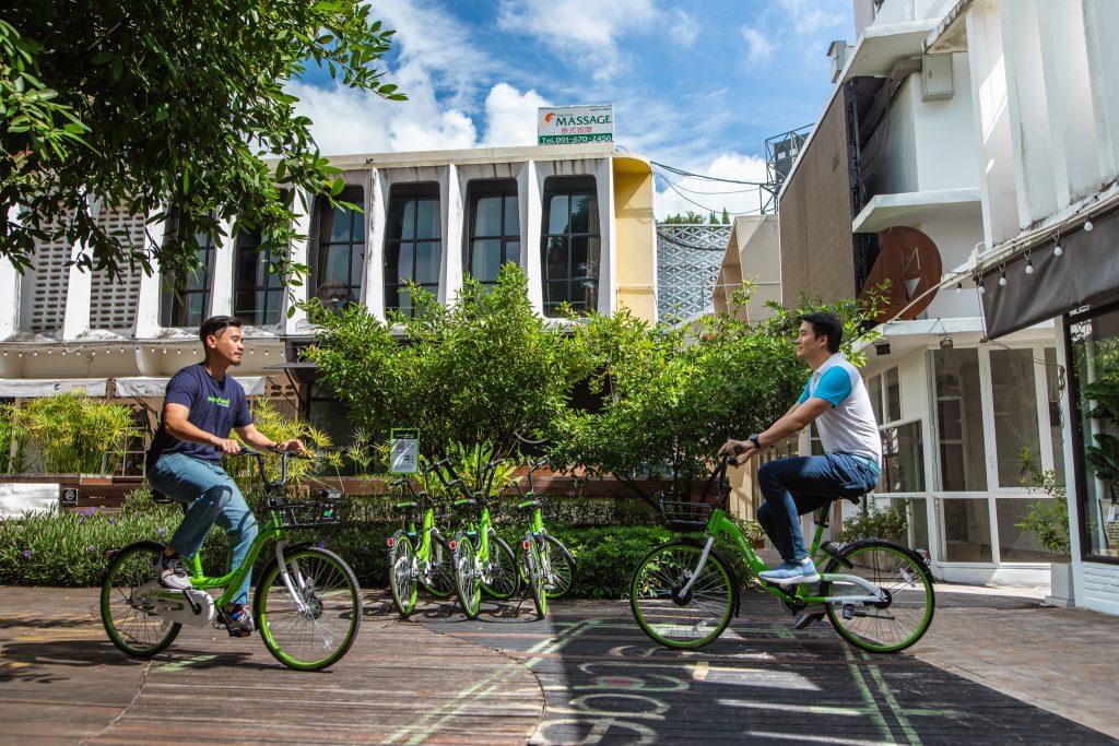 This green bike share startup fulfills Chiang Mai's smart city vision.