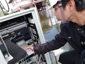 ดีแทคระดมทีมงานวิศวกรในจังหวัดภาคใต้ช่วยกู้เซลไซส์ให้พี่น้องผู้ประสบภัยน้ำท่วม ใช้งานติดต่อสื่อสารได้ต่อเนื่องมั่นใจทุกสถานการณ์