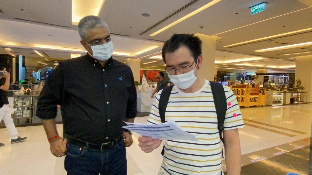 dtac customers visit dtac service halls to seek answers and compensation