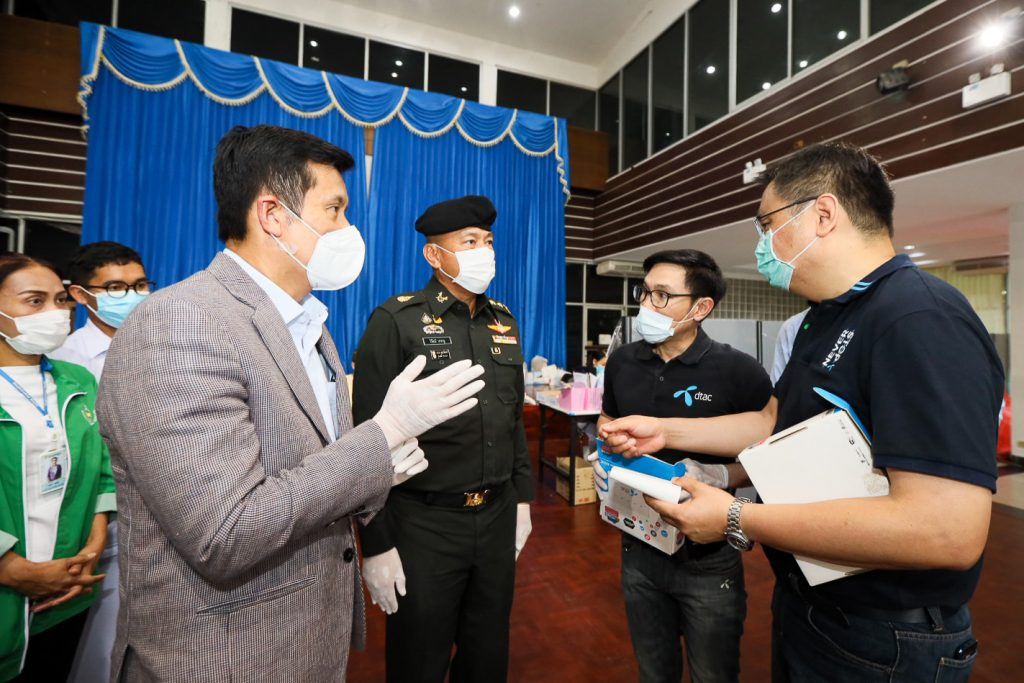dtac Joins DES in Inspecting Connectivity, Offer Free Wi-Fi for the Frontline Heroes