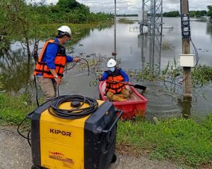dtac expedites deployment of power generators for base stations impacted by Dian Moo Tropical Storm