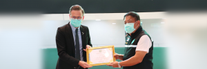 As Bussarakham Field Hospital closes, dtac is recognized for connecting patients and medical staff with what matters most